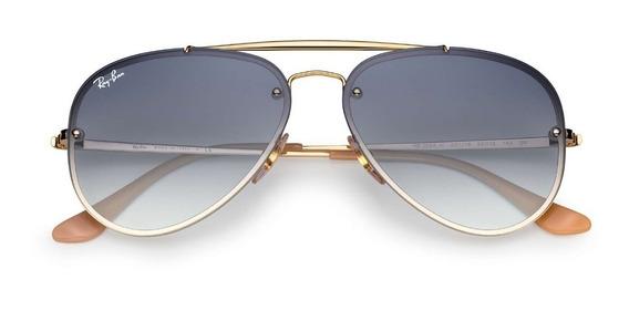 Óculos Ray Ban Aviador Blaze Rb3584 Lançamento Cores +brinde