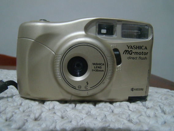 Câmera Fotográfica Yashica Mg Motor