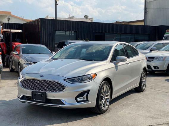 Ford Fusion 2019 4p Titanium L4/2.0/t Aut
