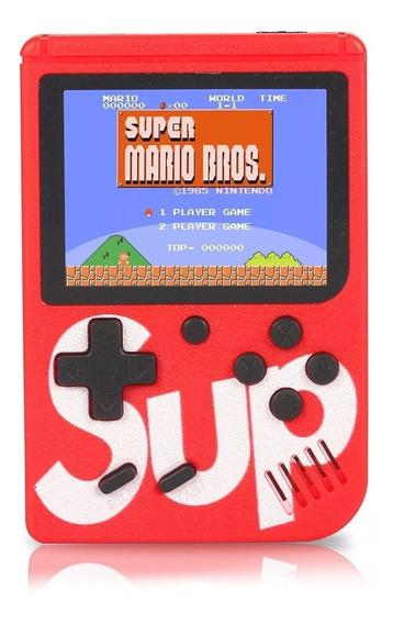 Vídeo Game Portátil 400 Jogos Internos Mini Game Sup Barato