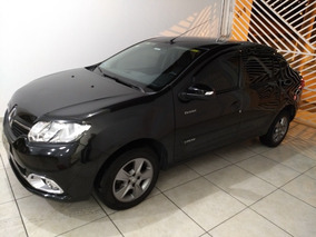 Renault Logan 1.6 Sl Exclusive Hi-power 4p 2015 - Preto