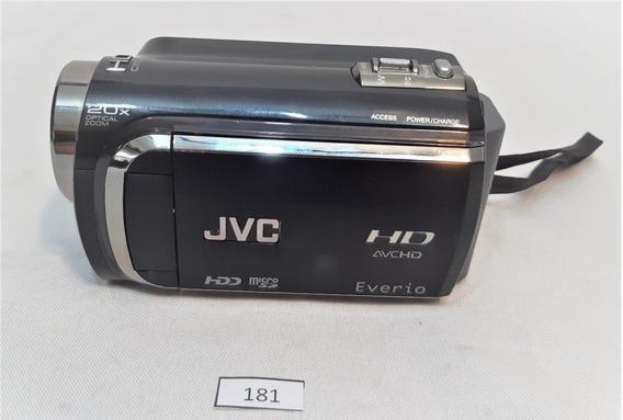 Filmadora Jvc Hd Everio 20x Optical Zoom Micro Sd Cchic