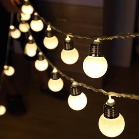 Luminaria Fio Lampadas De Led Gambiarra Luz Decoracao Varal