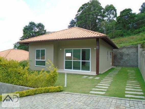 Casa Em Condomínio Para Venda Em Nova Friburgo, Cônego, 2 Dormitórios, 1 Suíte, 2 Banheiros, 2 Vagas - 001_2-699822