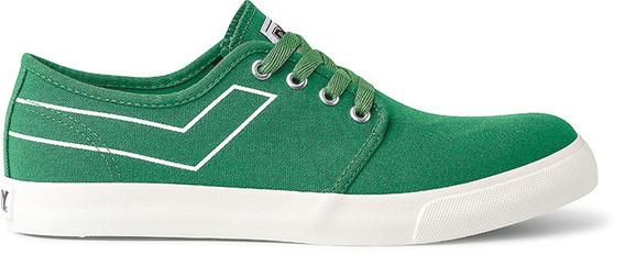Zapatillas Pony West Ox Canvas Verde-po206030