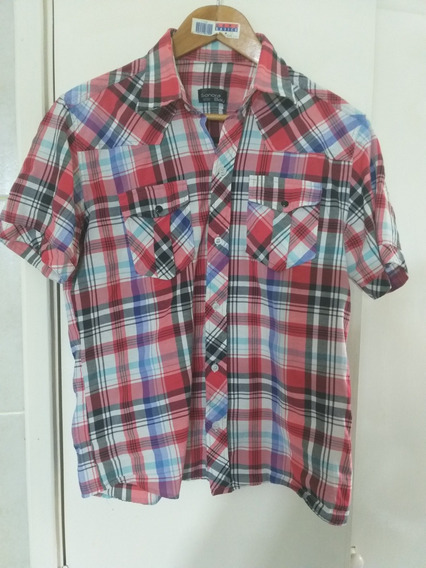 Camisa A Cuadros Mujer Impecable Lage