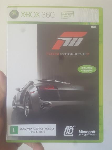 Forza Motorsport 3 Original Mídia Física Xbox 360 Frete R$12