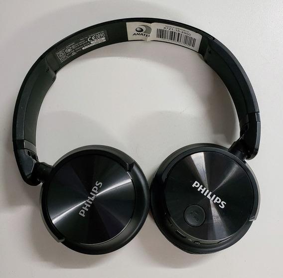 Fone De Ouvido Bluetooth Philips Shb3060 Preto