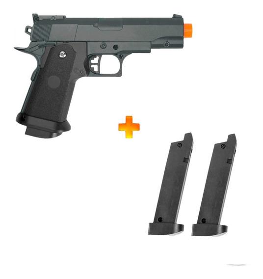 Pistola Spring Galaxy G10 + 2 Carregadores