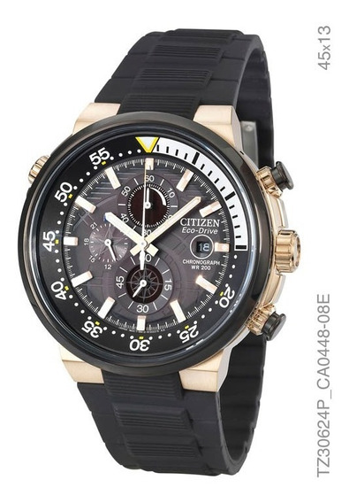 Relógio Cronografo Eco-drive Masculino Citizen Tz30624p