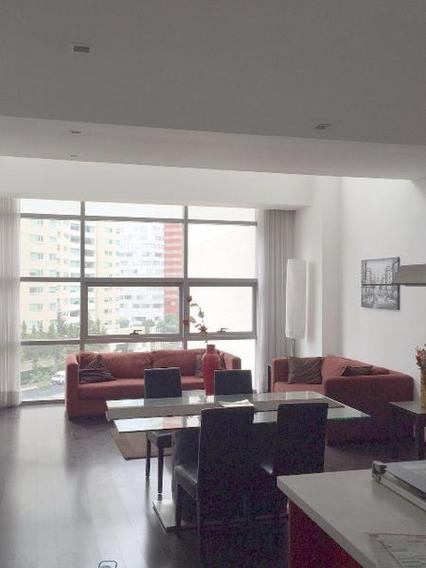 City Sta Fe Torre Milan, Precioso Departamento En Renta (mc)