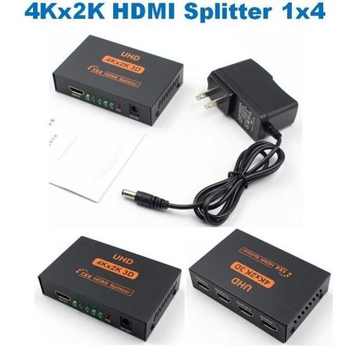 Splitter Hdmi 1 X 4 Salidas 4k - 1080p