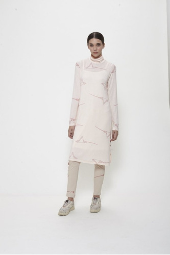 Vestido Mantarayas (rosa, S)