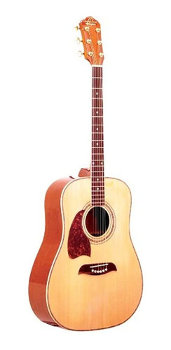 Imagen 1 de 1 de Oscar Schmidt Og2nlhau Guitarra Acustica Dreadnought Leftha