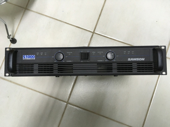 Potência Samson S-1000 Bom Estado. Pouquíssimo Uso