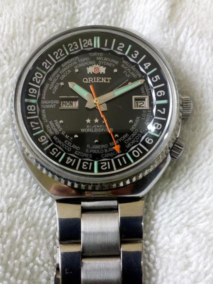 Relógio Orient Wd World Diver Automático Novíssimo Lindo
