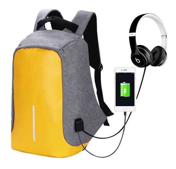 Mochila Antirrobo Backpack Impermeable De Viaje Y Negocios