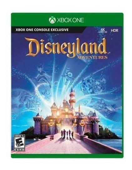 Jogo Xbox One Disneyland Adventures Original Lacrado