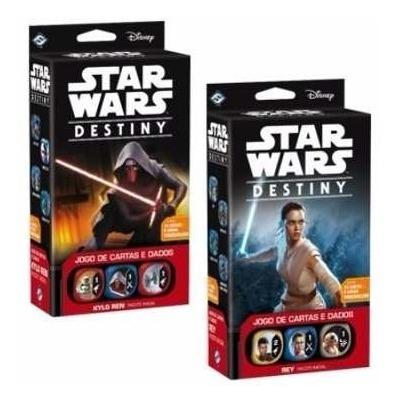 Star Wars Destiny Pacote Inicial Kylo Ren E Ray - Galápagos