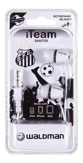 Fone De Ouvido Futebol Santos Fc