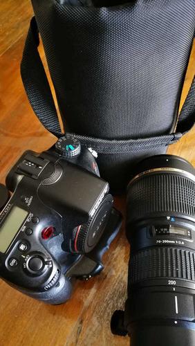 Câmera Sony Alpha 77v Com Lente 70-200 2.8 Tamiron