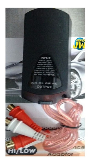 Adaptador Impedancia 4 Canales Con Remoto