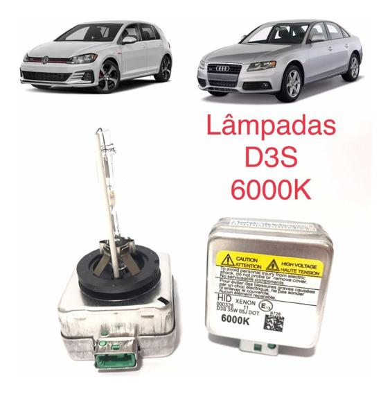 Par Lâmpadas Xênon D3s 6000k Volkswagen Golf Gti Variant A4