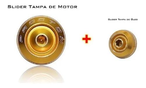 Slider Procton Tampa Motor + Tampa Óleo Procton Xj6