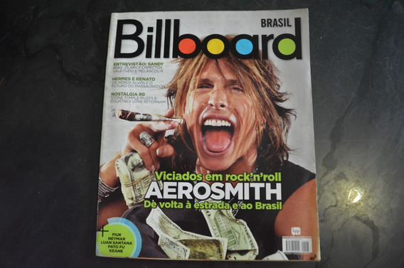 Billboard 8 Aerosmith Revista