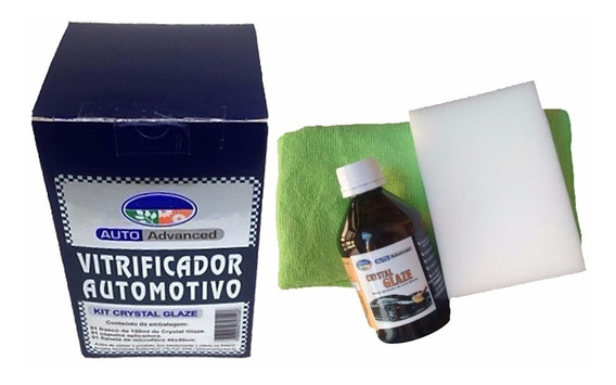 Kit Para Vitrificação Automotiva Crystal Glaze Ecoway