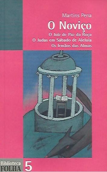 Livro O Noviço - Coleção Biblioteca Folha 5
