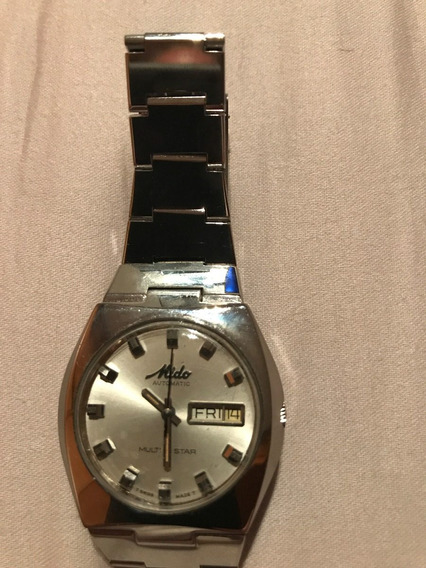 Relógio Mido Modelo Multi Star Day Date Automático Original