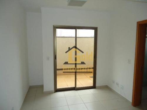 Apartamento Com 1 Dormitório Para Alugar, 48 M² Por R$ 1.000,00/mês - Jardim Botânico - Ribeirão Preto/sp - Ap2483