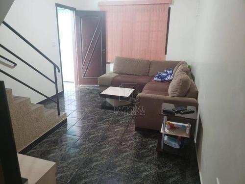 Imagem 1 de 28 de Sobrado Com 3 Dormitórios À Venda, 103 M² Por R$ 380.000,00 - Parque Capuava - Santo André/sp - So4161