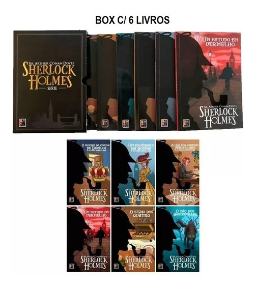 Sherlock Holmes - Box 6 Volumes Sir Arthur Conan Doyle
