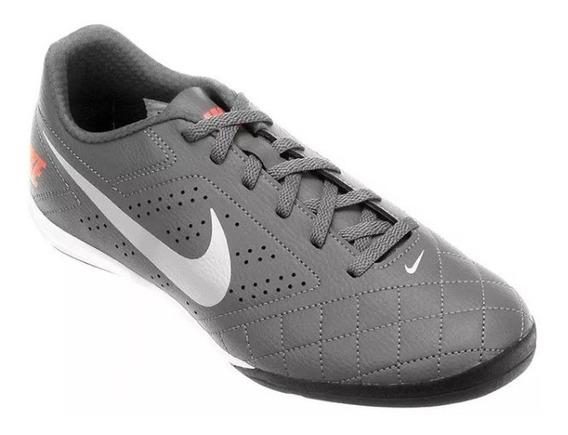 Chuteira Futsal Nike Beco Grafite E Branco 100% Original