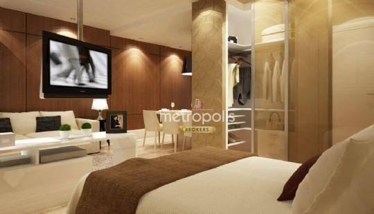 Loft Com 1 Dormitório À Venda, 50 M² Por R$ 365.000 - Jardim Do Mar - São Bernardo Do Campo/sp - Lf0006