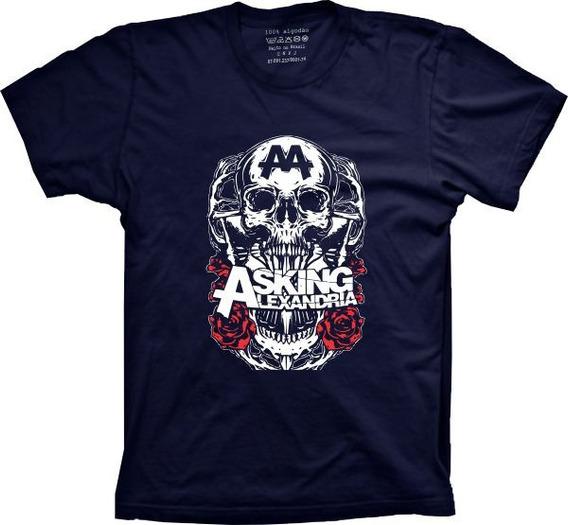 Camiseta Asking Alexandria Plus Size G1 G2 G3 G4