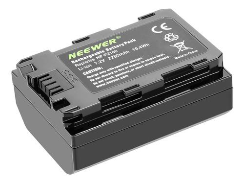 Neewer Batería 2280mah Recambio Para Sony Np-fz100 A9 A7riii
