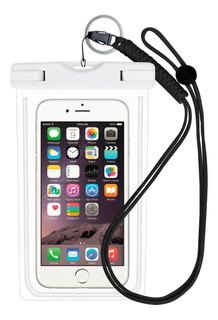 Impressão Digital Desbloqueio Saco Do Telefone Móvel Ipx8 Ág
