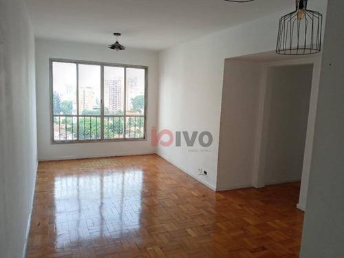 Imagem 1 de 19 de Apto Com 3 Dormitórios , 86 M² Por R$ 730.000 - Vila Mariana -sp - Ap4073
