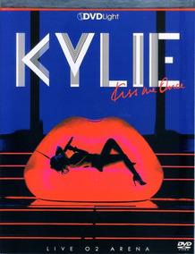 Kylie Live O2 Arena Dvd Light Original Novo Lacrado