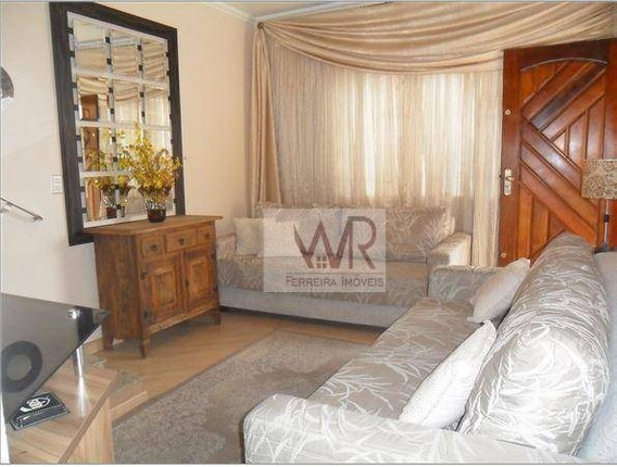 Sobrado Com 3 Dormitórios À Venda, 80 M² Por R$ 320.000 - Itaquera - São Paulo/sp - So0166