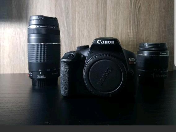 Câmera Canon T6 + Duas Lentes + Brinde