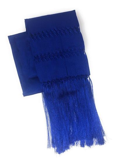 Rebozo Mexicano De Artisela. Azul