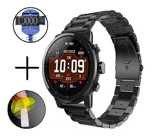 Pulso Acero Inoxidable Reloj Amazfit Stratos 2 Disponible