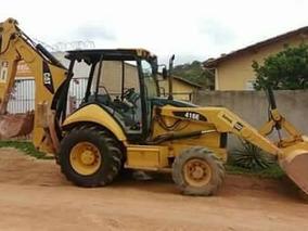 Retro Escavadeira Cartepilla Cat 410e