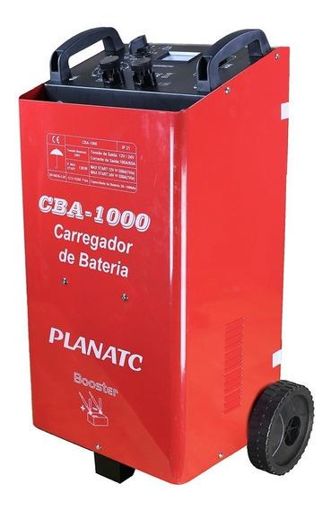 Carregador De Bateria 12/24v Com Auxiliar De Partida 500a-p