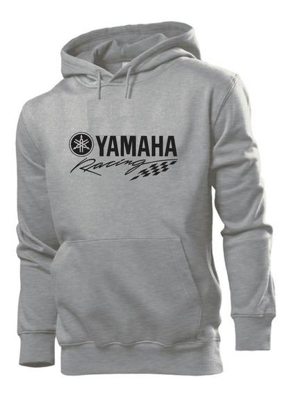 Blusa Moletom Casaco Yamaha Racing Moto Estampado