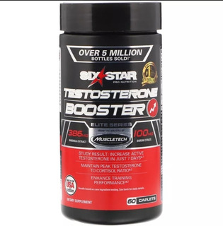 Testosterone Booster Elite - Six Star - Importada -60 Caps
